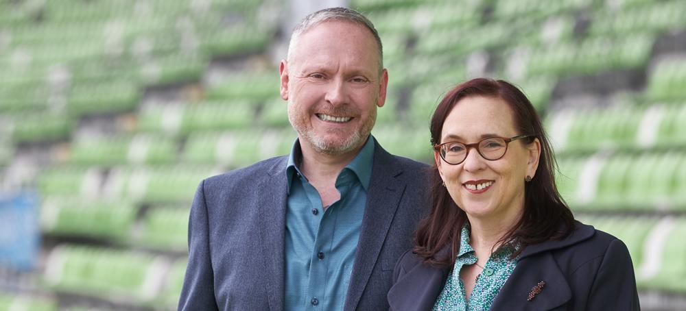 Thomas Issler und Margit Wellenreuther